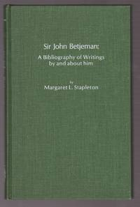 Sir John Betjeman: A Bibliography of Writings by and About Him, (The Scarecrow author bibliographies, no. 21)