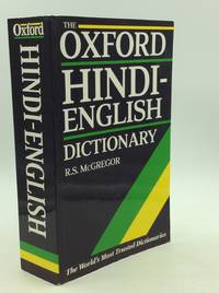 THE OXFORD HINDI-ENGLISH DICTIONARY by  ed R.S. McGregor - Paperback - 1997 - from Kubik Fine Books Ltd,  ABAA and Biblio.com