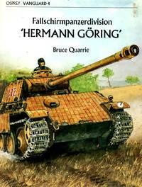"Vanguard No.4: Fallschrimpanzerdivision 'Herman Goring"""