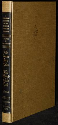 THE CANTERBURY TALES.  THE PHYSICIAN'S TALE.  A VARIORUM EDITION OF THE WORKS OF GEOFFREY CHAUCER, VOLUME II, PART TWENTY