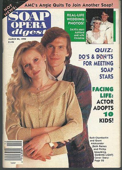 SOAP OPERA DIGEST MARCH 20, 1990, Soap Opera Digest