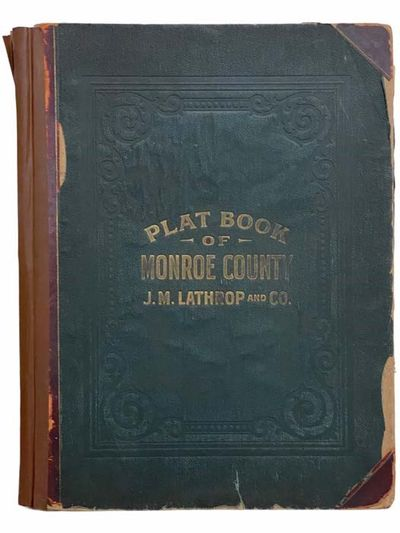New York and Philadelphia: J.M. Lathrop & Co, 1902. Half-Leather. Fair/No Jacket. Complete with all ...