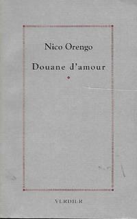 Douane d'amour traduit de l'italien par Danièle Valin