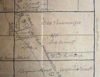 Manuscript map of Deposit and Bennettsville