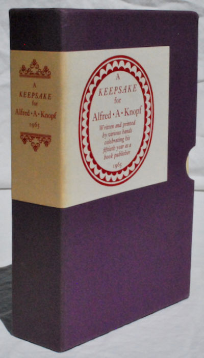 New York, NY: Charles Antin, 1965. First Edition. Paperback. Good. Signed. FIRST EDITION. Slip-case ...