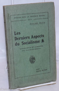 """image of Les Derniers Aspects du Socialisme. Edition revue et augmentée des """"nouveaux aspects."""
