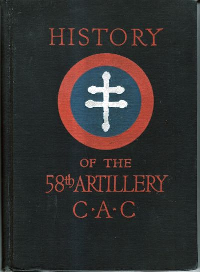 New York: Regimental History Board, 1919. Hardcover. Very Good. Hardcover. Includes a history with c...