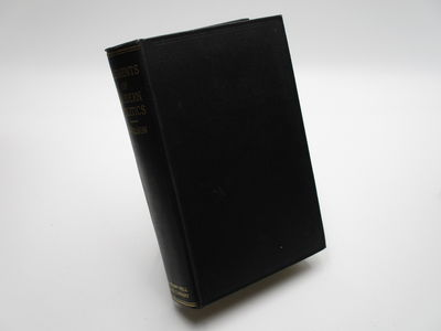 New York. : McGraw Hill. , 1936 . 1st Edition.. Black cloth, gilt spine title. . Near fine, ink name...