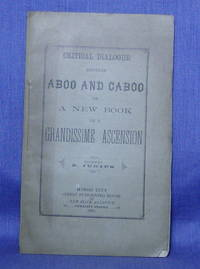 CRITICAL DIALOGUE BETWEEN ABOO AND CABOO on a New Book