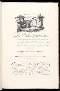 Fables d'Esope. Dediées au Premier Consul Bonaparte. Écrites par Guillaume...