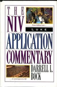 image of Luke: The NIV Application Commentary From Biblical Text--to Contemporary Life