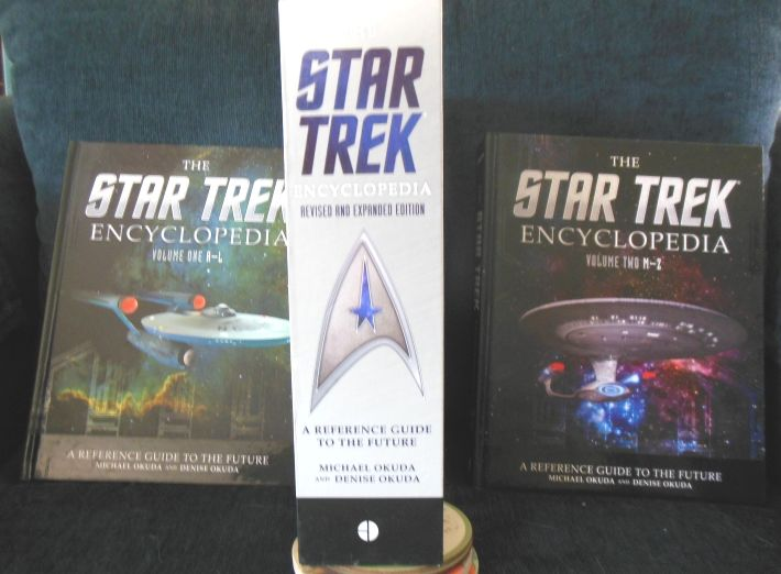 A REFERENCE GUIDE TO THE FUTURE. THE STAR TREK ENCYCLOPEDIA