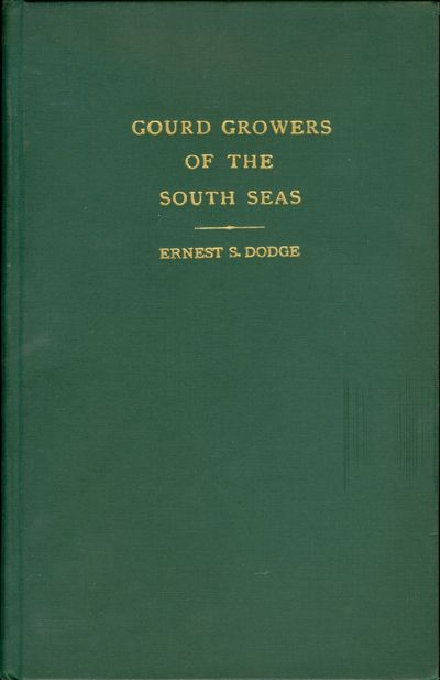 Boston: The Gourd Society of America, 1943. Ethnographical Series No. 2. Octavo, xiii, 119 pages. Pl...