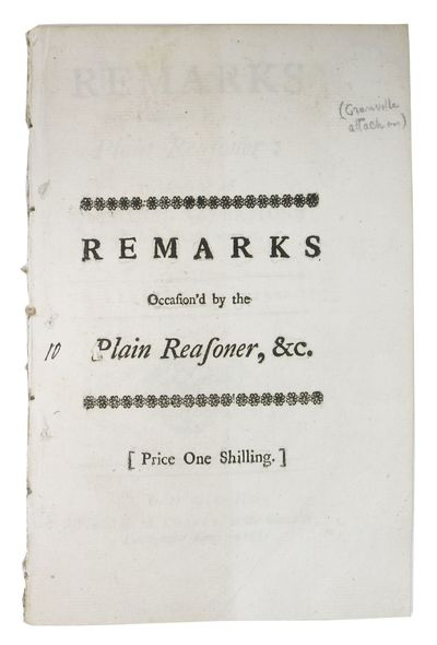 London: Printed for M. Cooper, at the Globe in Paternoster Row, 1745. 1st Edition. Disbound, now hou...