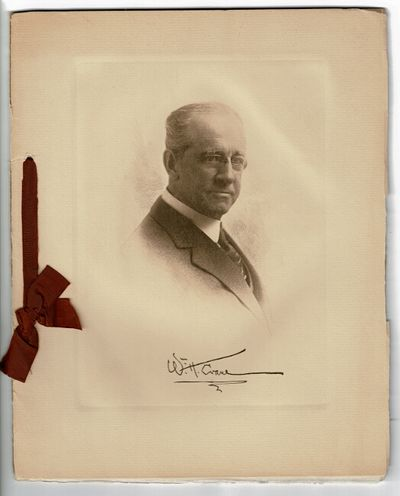 New York: Cameron & Buckley, 1916. 4to, 12 leaves (7 photo-engraved), self wrappers, ribbon-tied; fi...