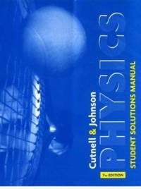 image of Physics, Student Solutions Manual