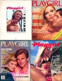 Playgirl (4 Vintage adult magazines, 1974-84)