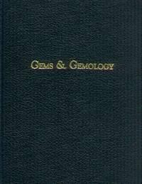 Gems & Gemology (7 Volumes 1978 - 1980)