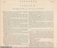 EL DORADO FAILURE. The bringing [of] Sir Walter Raleigh to Execution. 1618. An original article...
