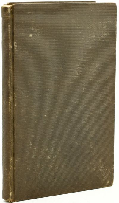 Philadelphia: Hooker & Agnew, 1841. First Edition. Hard Cover. Very Good binding. 12mo. In which Bis...