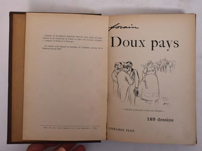 Paris: Librairie Plon, 1897. Hardcover. VG book plate on inside of front cover.. Brown buckram libra...