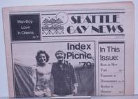 image of Seattle Gay News: vol. 6, #14 August 3, 1979: Index Picnic '79