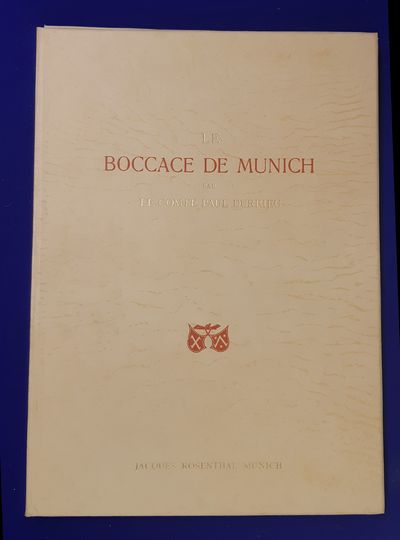 Le Boccace de Munich; reproduction...