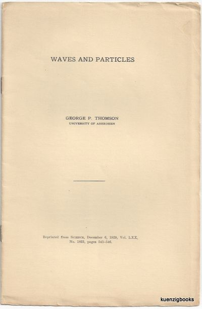 : , 1929. First Edition. Wraps. Near Fine. First Edition. 15 pages. 8vo. Tan printed wrappers. Minor...
