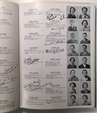 THE LOG: JUNE 1935 -- signed yearbook from James Madison High School