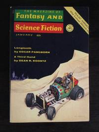 THE MAGAZINE OF FANTASY AND SCIENCE FICTION VOL. 38 NO. 1 JANUARY 1970