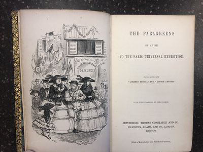 Edinburgh: Thomas Constable & Co, 1856. Rebound First Edition. Hardcover. Octavo, 230 pages; VG-; fu...