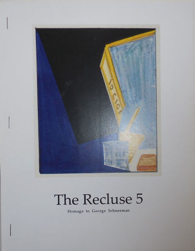 New York: The Poetry Project, 2009. First edition. Paperback. Fine. Tall, side-stapled wrappers. The...