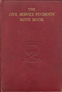 Civil Service Students' Note Book
