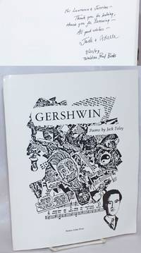 image of Gershwin; poems, book and cassette  [signed]