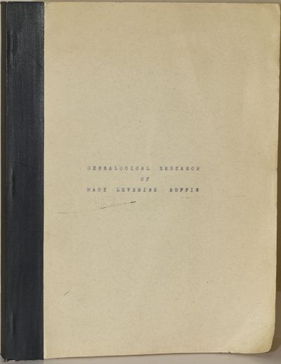Soft Cover. Very Good binding. Mary Ruffin performed genealogical research, and enjoyed a variety of...