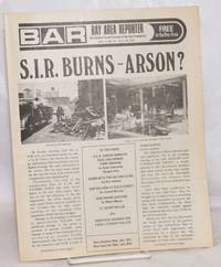 image of B.A.R. Bay Area Reporter: the catalyst for all factions of the Gay Community; vol. 2, #14, July 12, 1972; S.I.R. Burns - Arson