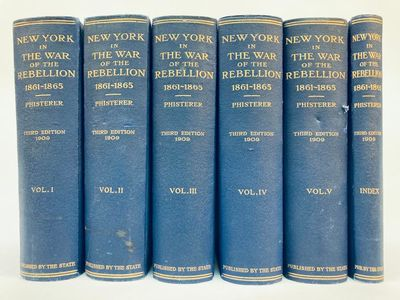 Albany: State of New York, 1912. Third Edition. Hardcover. Quartos, 896/912/896/912/883/376 pages; G...
