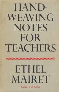 Handweaving Notes for Teachers