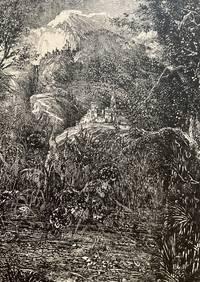 Les Villes Derrière Le Marécage (The Cities Behind The Swamp) for Fables et Contes by Hippolyte de Thierry-Faletans
