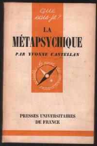 image of La métapsychique / que sais je