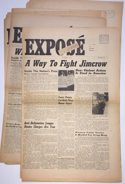 New York: the newspaper, 1953. Twelve issues of the boundary-pushing tabloid newspaper, all with hor...