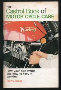 image of The Castrol Book of Motor Cycle Care 1972/73 edition