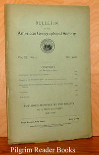 Bulletin of the American Geographical Society: Volume XL, Number  5, May 1908