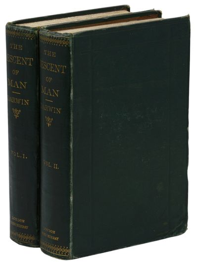 London: John Murray, 1871. First Edition. First edition, second issue. (Page height is 19 cm; p. 297...