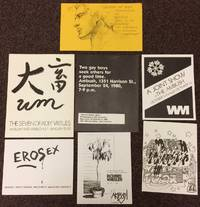 [Seven different handbills and small posters for art exhibits at The Ambush in San Francisco]