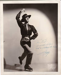 BRUNO OF HOLLYWOOD PUBLICITY PHOTO INSCRIBED AND SIGNED BY SKIPPY  BAXTER.
