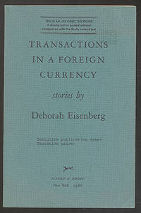 image of Transactions in a Foreign Currency: Stories