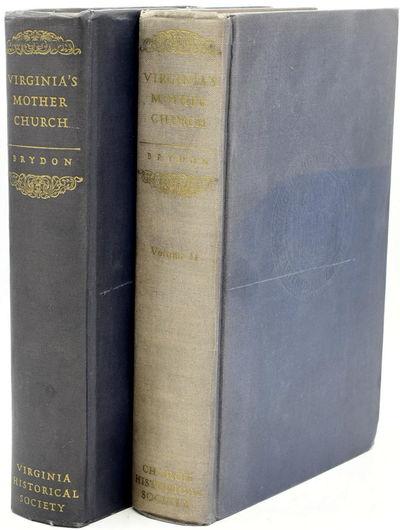 Richmond, VA: Virginia Historical Society. Hard Cover. Very Good binding. Signed. Each volume has be...
