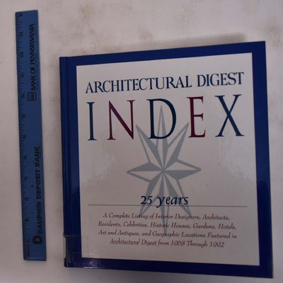 United States: Architectural Digest Publishing Corp, 1993. Hardcover. VG- (ex-museum copy with plate...