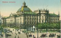 Germany – Munchen, Munich, Justizpalast, early 1900s unused Postcard